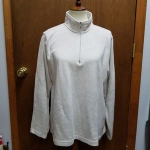 ORVIS TROUT Women's White Thermal Pullover XL